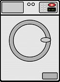 image of washing machine  - a illustration of a Washing machine vector - JPG