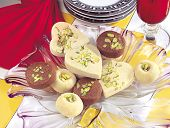 image of bangla  - A group of delicious famous and favourite sweets of India and Pakistan - JPG