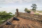stock photo of conquistadors  - San Felipe Fortress at Puerto  Plata - JPG