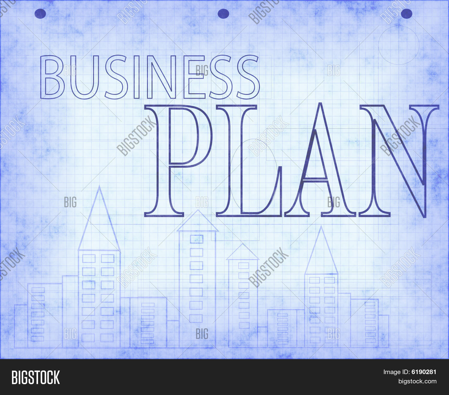 Blueprint business plan design image photo bigstock blueprint of business plan design malvernweather