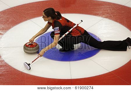 Curling Women Canada Lisa Weagle Rings