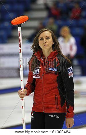 Curling Women Canada Rachel Homan Skip