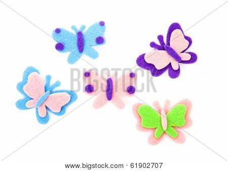 Butterfly Made Of Felt