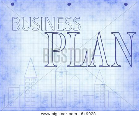 Blueprint Of Business Plan Design