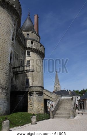 Loire Valley Langais View Of Towers