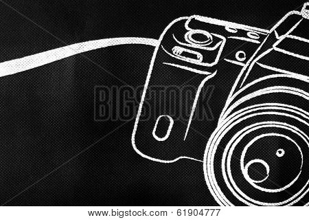 Camera Picture On Cloth
