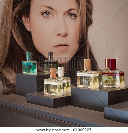 Perfume Bottles Atesxence 2014 In Milan, Italy