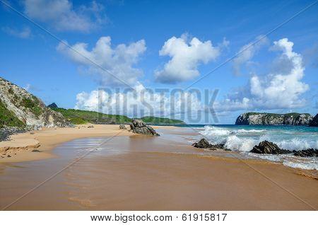 Cliffs On Fernando De Noronha, Pernambuco (brazil)