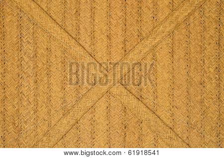 a texture made from grass cord esparto
