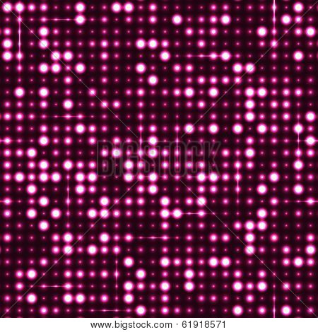 Pink seamless shimmer background with shiny silver and black paillettes. Sparkle glitter techno background. Glittering sequins club screen. Abstract technology background,
