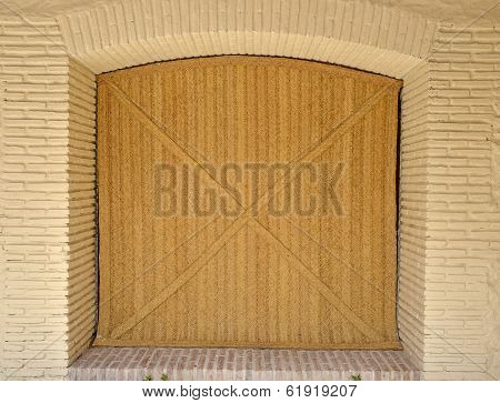 a Door Guard made from grass cord