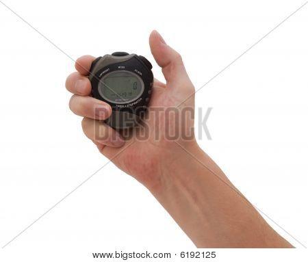 Hand & Stopwatch