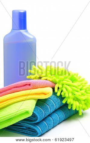 Cleaning Supplies, Sponge, Microfibre, Towels, Napkins
