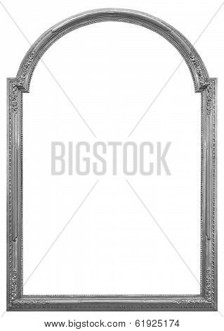 Silver Wooden Frame