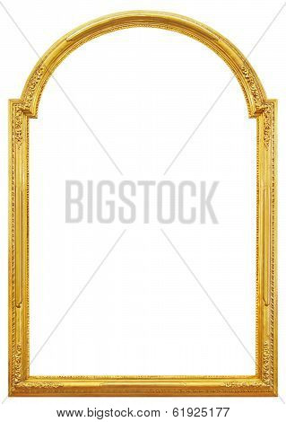 The Gilded Wooden Frame