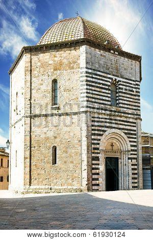 San Giovanni Baptistery, Volterra, Italy