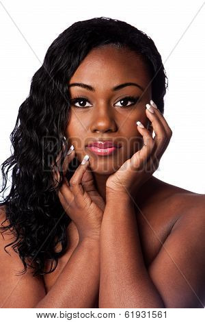 Female Black Beauty Face