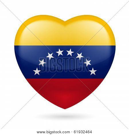 Heart icon of Venezuela
