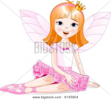 Little Fairy ballerina