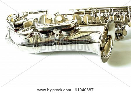 Part of saxophone