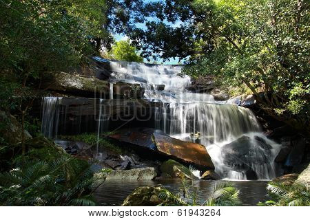 Phon Pob Waterfall, Phukradung National Park