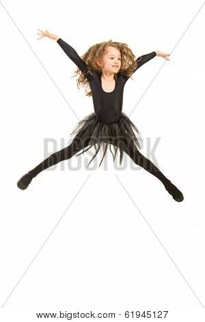 Jumping Dancer Girl