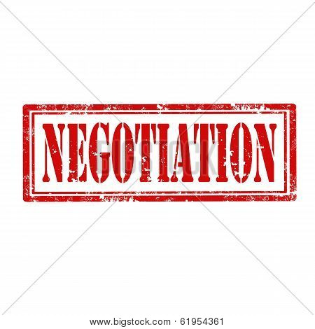 Negotiation-stamp