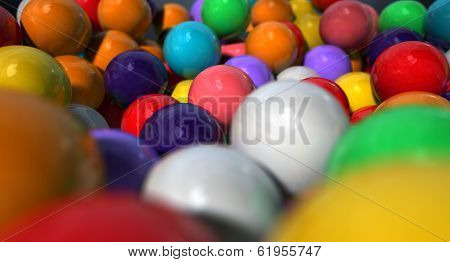Gumballs Up Close And Personal