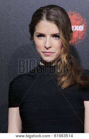 LOS ANGELES - MAR 20:  Anna Kendrick at the 2nd Annual Rebels With A Cause Gala at Paramount Studios on March 20, 2014 in Los Angeles, CA