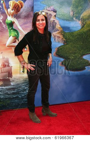 LOS ANGELES - MAR 22:  Pamela Adlon at the Pirate Fairy Movie Premiere at Walt Disney Studios Lot on March 22, 2014 in Burbank, CA