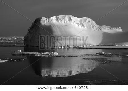 Iceberg Black-white