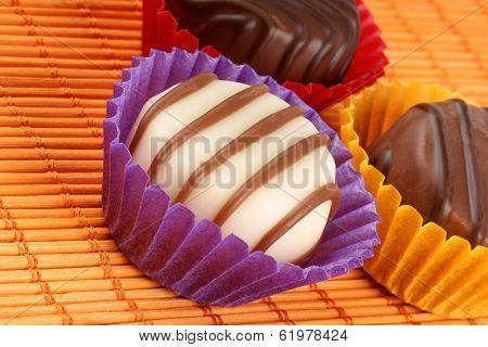 Mixed Chocolate Pralines