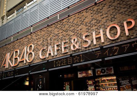 Akb48 Cafe And Shop In Japan