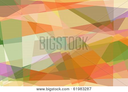 Retro abstract cubism mosaic background