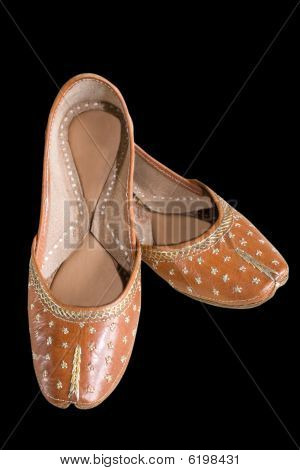 Indian Shoes Clipping Path