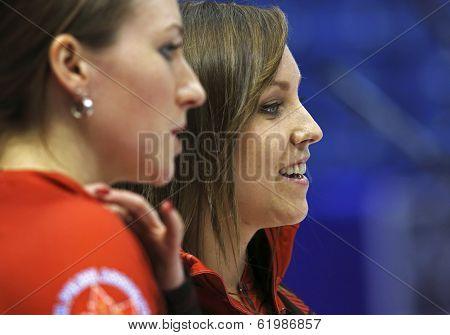 Curling Women Canada Rachel Homan Smile