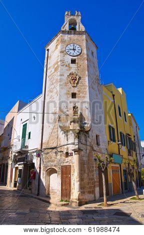 Clocktower. Monopoli. Puglia. Italy.