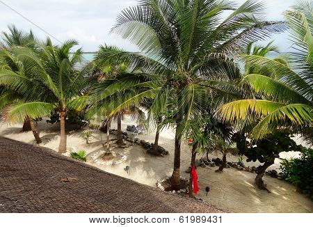 Beach Around Coba