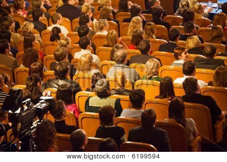Moscow - March 28: Audience On Kvn - Audience on KVN - Club cheerful and resourceful in Theatre of t
