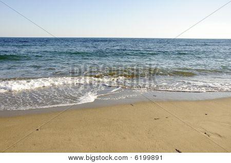 Deserted Beach.