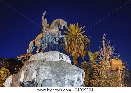 San Martin Square In Mendoza, Argentina.