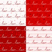 foto of soulmate  - seamless romantic and lovely pattern for various purpose and event such as valentine and wedding - JPG