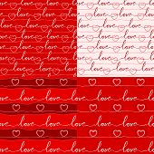 image of soulmate  - seamless romantic and lovely pattern for various purpose and event such as valentine and wedding - JPG