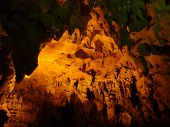 image of yucatan  - a cave in Loltun located in Yucatan Mexico - JPG