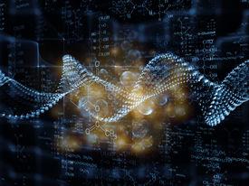 foto of nanotechnology  - Molecular Dreams series - JPG