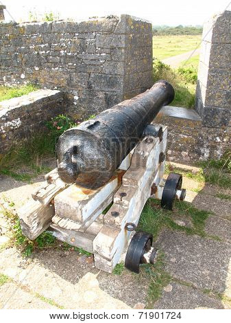 Fort Fortifications And Canon