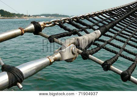 A Schooner Marine Rope Ladder