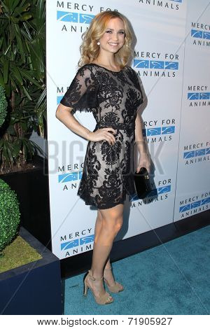 LOS ANGELES - SEP 12:  Fiona Gubelmann at the Mercy For Animals 15th Anniversary Gala  at London Hotel on September 12, 2014 in West Hollywood, CA