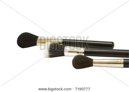 Three Make-up Brushes