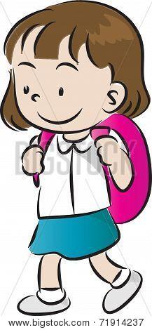children go to school